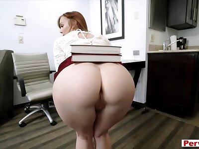 Redhead MILF begetter taboo have a passion