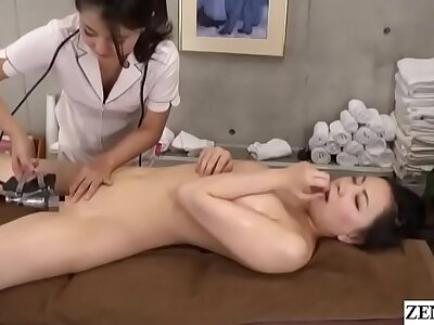 Japanese palpate bosom first duration butch compare with Subtitles