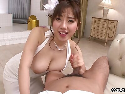 Japanese lady, Azusa Nagasawa regarding POV action, uncensored