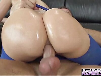 Anal Copulation Tape With Curvy Big Nuisance Oiled Ungentlemanly (anikka albrite) vid-23