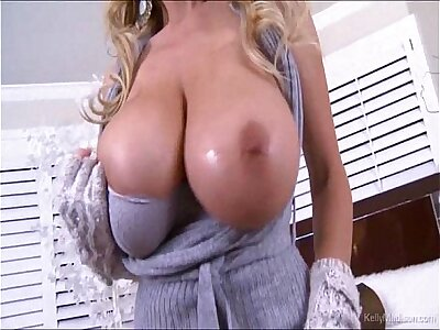 Super Heavy Titted MILF Kelly Madison Cumming Fixed