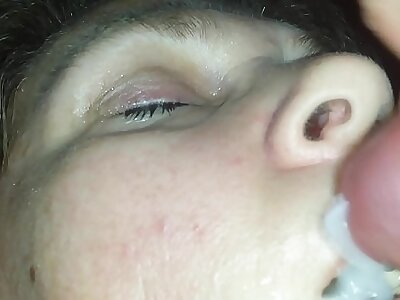 Sleeping blowjob
