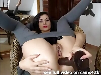Crude Clara Fucks Mortal physically approximately the Pain in the neck on Cam - cams4.tk