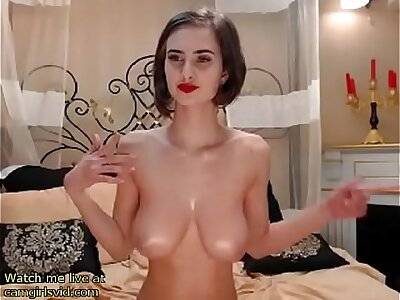 Giving chest pamper cam show