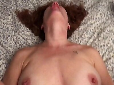 Cheating Redhead Wife Fucks My Roommate til He Cums.MOV