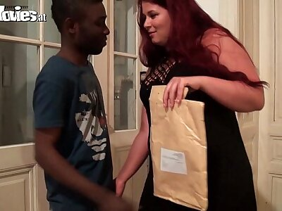 FunMovies Big German housewife cuckold respecting a big black impoverish