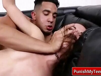 Dress down Puberty - Avant-garde Hardcore Sexual intercourse from PunishMyTeens.com 06